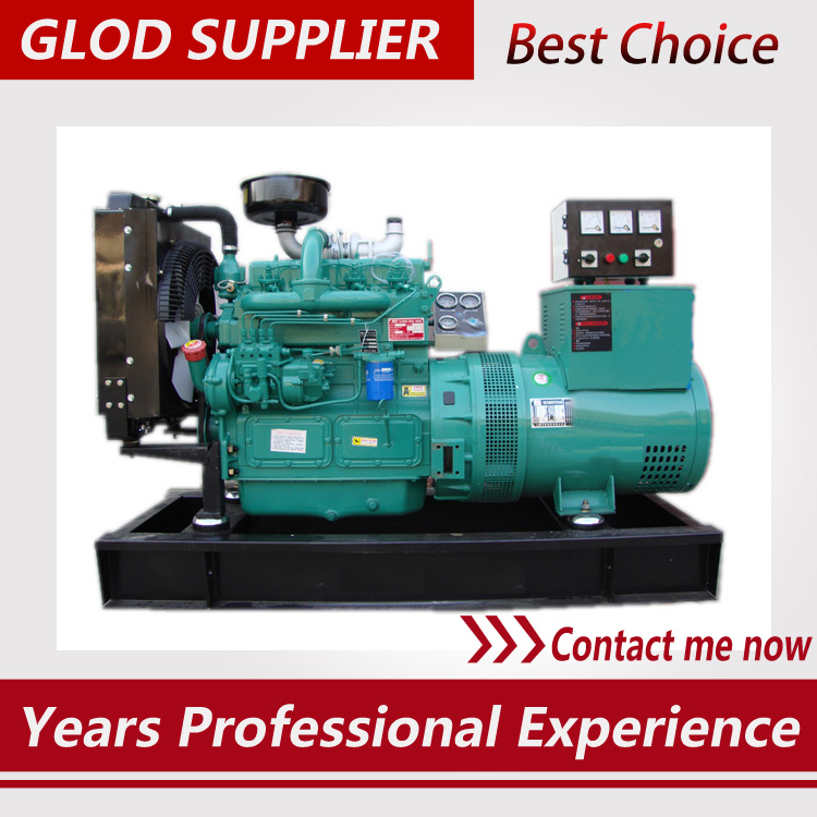 40kw diesel generator with brushless alternator three phase for home use