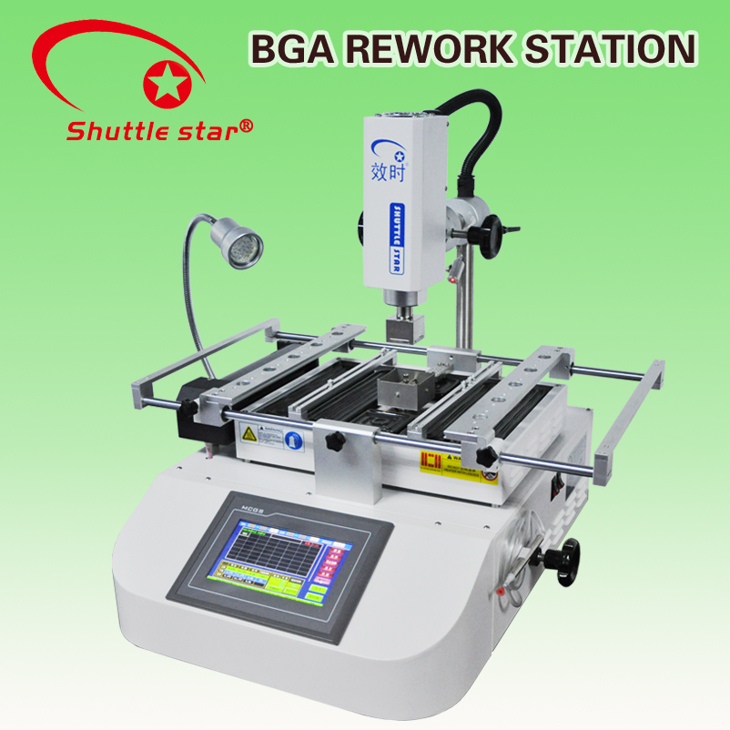 SP360C Economy Smart Industrial Computer Interfaced IR / Hot-Air BGA Reballing Station for Laptop Components Repair