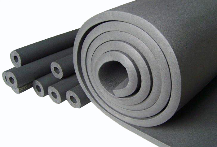 Fireproof Closed Cell foam Nitrile Rubber Insulation rolls