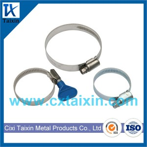 Germany type hose clamp / British / American / European / T-bolt / V band/ Stainless Steel Hose Clamps