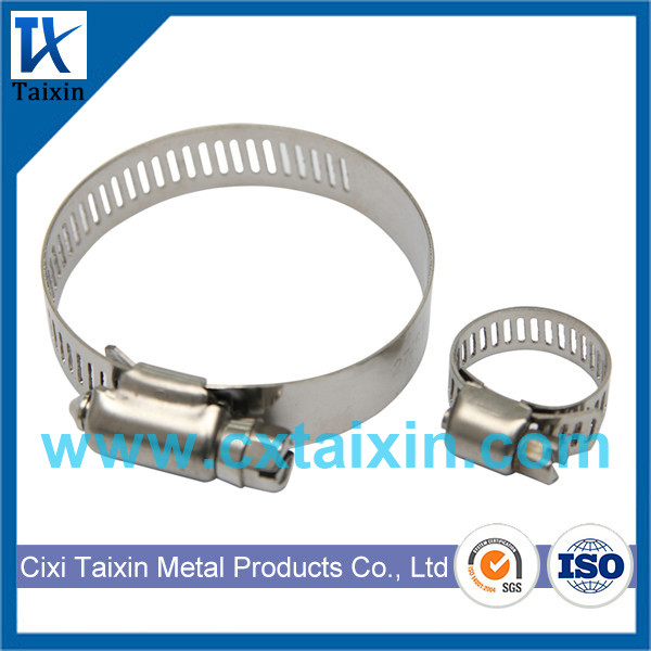 Stianless Steel / Stainless Steel American type Hose clamp / US style