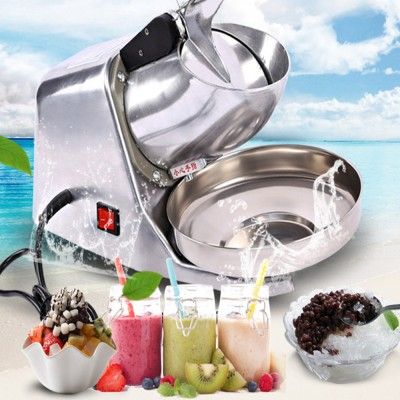 Electric Ice crusher Block shaving machine Shaved ice machine