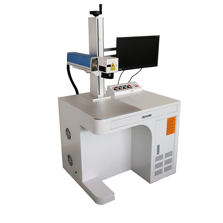 3D Fiber Laser Marking Machine 10 20 50 W for Metals and Nonmetals