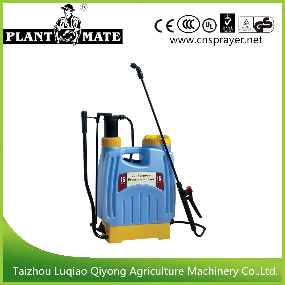 16L High Quality Plastic Agricultural Manual Sprayer (3WBS-16F)