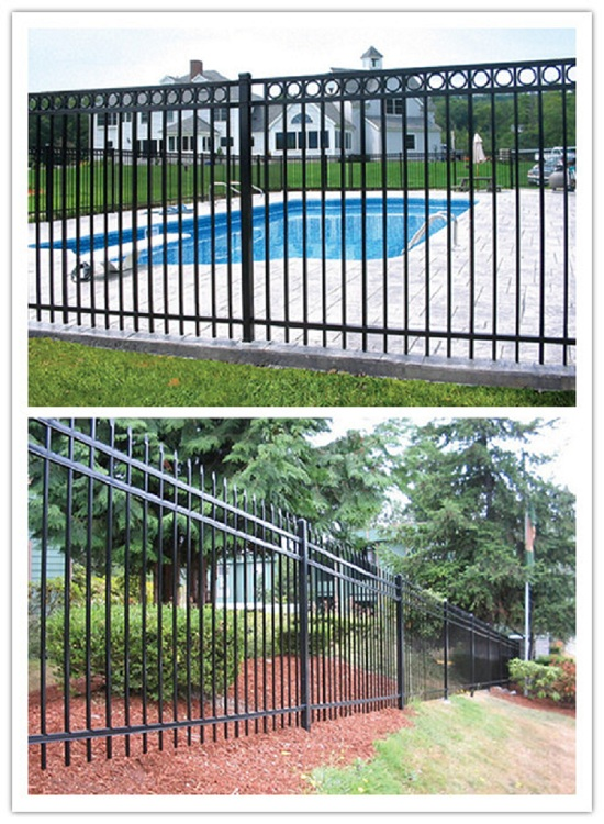 High Quality Cheap Garden  Aluminum Fence Factory