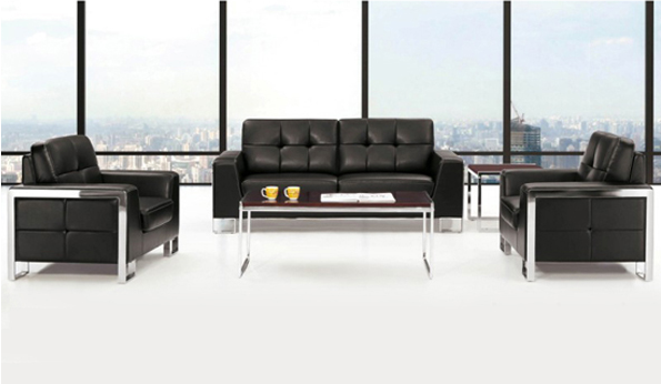 Modern black color attractive sofa