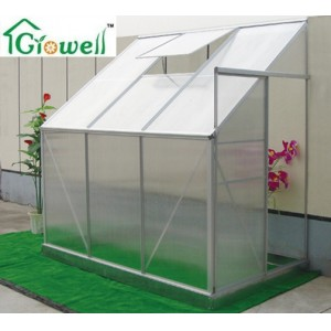 Lean-to Greenhouse for Limited Space (LSP series)